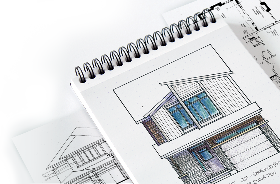 Architectural drafting and design services