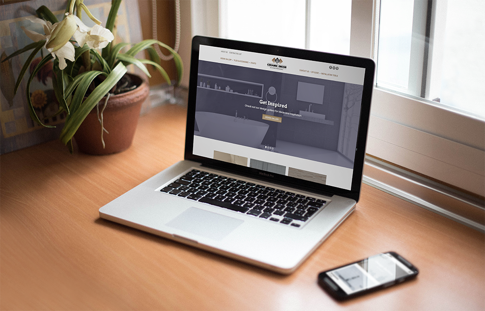 Ceramic Decor - Corporate Website & Online Store