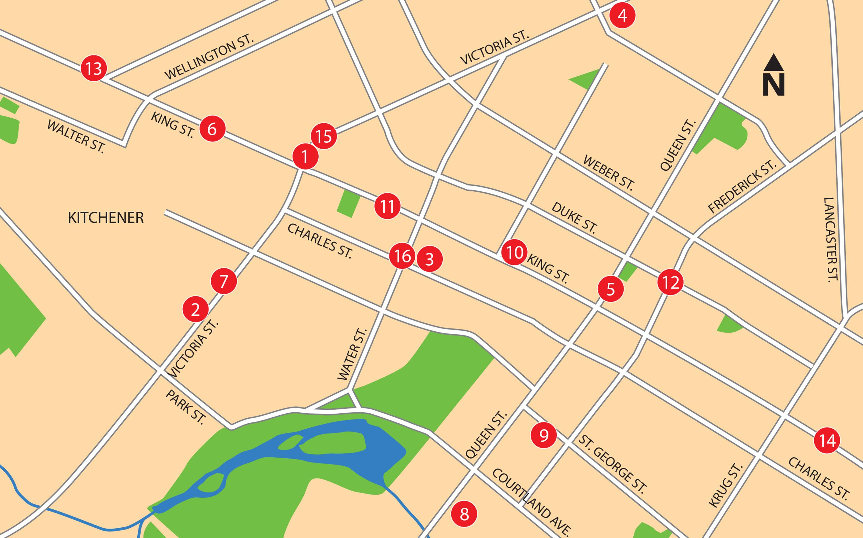 developments map